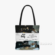 A AP Rocky and Tyler the Creator Custom Personalized Tote Bag Polyester with Small Medium Large Size