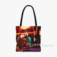 ACT GHETTO Tyga Feat Lil Wayne Custom Personalized Tote Bag Polyester with Small Medium Large Size