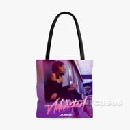Addicted Judge Feat Jesse Rutherford Lil West Custom Personalized Tote Bag Polyester with Small Medium Large Size