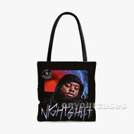 Address 24hrs Custom Personalized Tote Bag Polyester with Small Medium Large Size