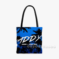 Addy Iamsu Feat Snoop Dogg Custom Personalized Tote Bag Polyester with Small Medium Large Size