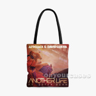 Afrojack David Guetta ft Ester Dean Another Life Custom Personalized Tote Bag Polyester with Small Medium Large Size