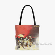 Ain t Ready Rich The Kid Feat Jay Critch Famous Dex Custom Personalized Tote Bag Polyester with Small Medium Large Size