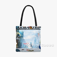 Akiba G s Trip The Animation Custom Personalized Tote Bag Polyester with Small Medium Large Size