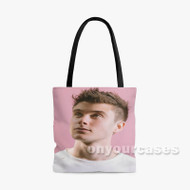 Alec Benjamin Custom Personalized Tote Bag Polyester with Small Medium Large Size