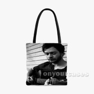 Amos Lee Custom Personalized Tote Bag Polyester with Small Medium Large Size