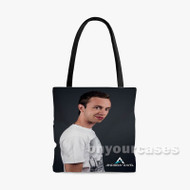 Andrew Rayel Custom Personalized Tote Bag Polyester with Small Medium Large Size