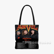 Anvil Night Demon Custom Personalized Tote Bag Polyester with Small Medium Large Size