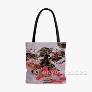 Bang Your Line Elhae Feat Ty Dolla ign Custom Personalized Tote Bag Polyester with Small Medium Large Size