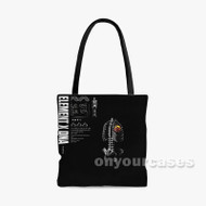 ELEMENT x DNA Nyck Caution Custom Personalized Tote Bag Polyester with Small Medium Large Size
