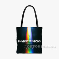 Imagine Dragons Evolve World Tour Custom Personalized Tote Bag Polyester with Small Medium Large Size
