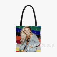 Louisa Johnson Custom Personalized Tote Bag Polyester with Small Medium Large Size