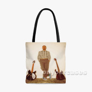 MORON Steve Lacy Custom Personalized Tote Bag Polyester with Small Medium Large Size