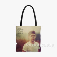 Niall Horan Slow Hands Custom Personalized Tote Bag Polyester with Small Medium Large Size