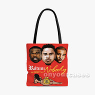 Nobody Rotimi Feat 50 Cent TI Custom Personalized Tote Bag Polyester with Small Medium Large Size