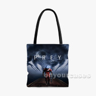 Prey Custom Personalized Tote Bag Polyester with Small Medium Large Size