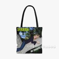 Shakira Me Enamor Custom Personalized Tote Bag Polyester with Small Medium Large Size