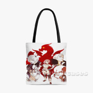 Shingeki no Bahamut Virgin Soul Custom Personalized Tote Bag Polyester with Small Medium Large Size