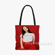 Sigrid Custom Personalized Tote Bag Polyester with Small Medium Large Size