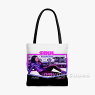 Soul Searchin K Valentine Feat Styles P Custom Personalized Tote Bag Polyester with Small Medium Large Size