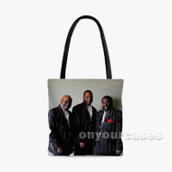 The O Jays Custom Personalized Tote Bag Polyester with Small Medium Large Size