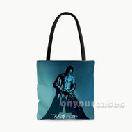 Travis Scott 2 Custom Personalized Tote Bag Polyester with Small Medium Large Size