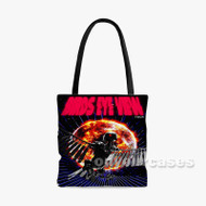 Travis Scott Birds Eye View Tour Custom Personalized Tote Bag Polyester with Small Medium Large Size