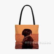 66 Lil Yachty Feat Trippie Redd Custom Personalized Tote Bag Polyester with Small Medium Large Size