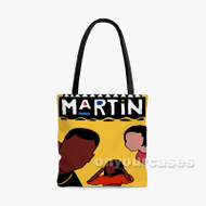 90s Vibe Hip Hop Martin TV Show Custom Personalized Tote Bag Polyester with Small Medium Large Size