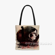 Absentia Custom Personalized Tote Bag Polyester with Small Medium Large Size