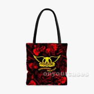 Aerosmith Flag Custom Personalized Tote Bag Polyester with Small Medium Large Size