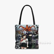 AICO Incarnation Custom Personalized Tote Bag Polyester with Small Medium Large Size