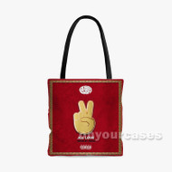All Love Audio Push Custom Personalized Tote Bag Polyester with Small Medium Large Size