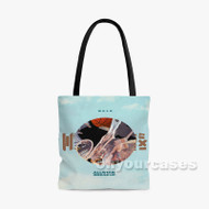 All Star Break Up Wale Custom Personalized Tote Bag Polyester with Small Medium Large Size