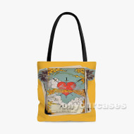 Alone Halsey Feat Big Sean Stefflon Don Custom Personalized Tote Bag Polyester with Small Medium Large Size