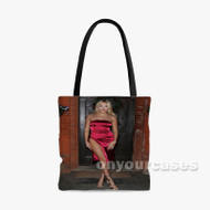 Amber Turner 2 Custom Personalized Tote Bag Polyester with Small Medium Large Size