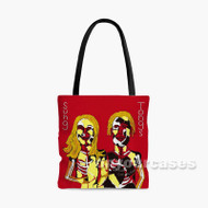 Animal Collective Performing Sung Tongs Custom Personalized Tote Bag Polyester with Small Medium Large Size