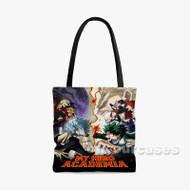 Boku no Hero Academia 3rd Season Custom Personalized Tote Bag Polyester with Small Medium Large Size