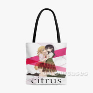 Citrus Custom Personalized Tote Bag Polyester with Small Medium Large Size