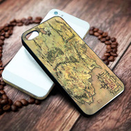 The Lord of the Rings Middle-earth on your case iphone 4 4s 5 5s 5c 6 6plus 7 case / cases