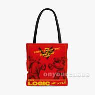 Logic Bobby Tarantino vs Everybody Custom Personalized Tote Bag Polyester with Small Medium Large Size