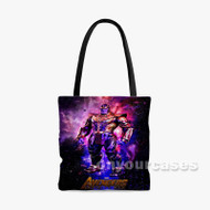 Thanos The Avengers Infinity War 2 Custom Personalized Tote Bag Polyester with Small Medium Large Size