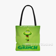 the grinch Custom Personalized Tote Bag Polyester with Small Medium Large Size