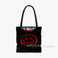 The Strangers Prey at Night Custom Personalized Tote Bag Polyester with Small Medium Large Size