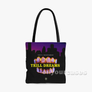 Trill Dreams YGTUT Feat Isaiah Rashad Custom Personalized Tote Bag Polyester with Small Medium Large Size
