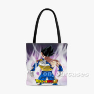 Vegeta Dragon Ball Super Custom Personalized Tote Bag Polyester with Small Medium Large Size