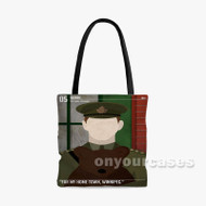 winnipeg the bear Custom Personalized Tote Bag Polyester with Small Medium Large Size