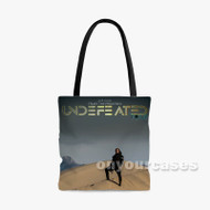 Ace Hood Undefeated Custom Personalized Tote Bag Polyester with Small Medium Large Size