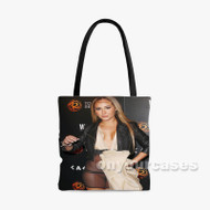 Adriennd Bailon Custom Personalized Tote Bag Polyester with Small Medium Large Size