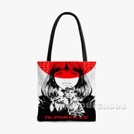 Alphaville Alternative Custom Personalized Tote Bag Polyester with Small Medium Large Size